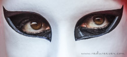 The eyes behind the mask- The Venice Carnival