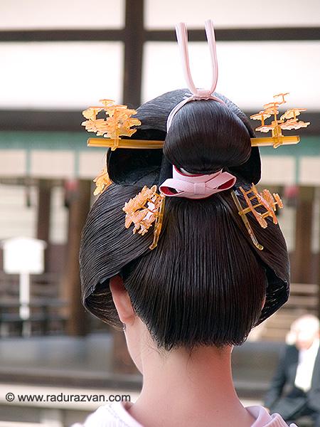 Geisha haristyle